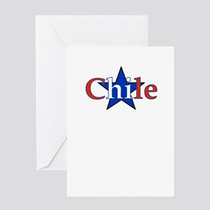 Chile Star Greeting Card
