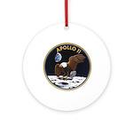 Apollo 11 Mission Patch Ornament (Round)
