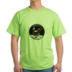 Apollo 11 Mission Patch Green T-Shirt