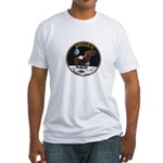 Apollo 11 Mission Patch Fitted T-Shirt