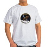 Apollo 11 Mission Patch Light T-Shirt