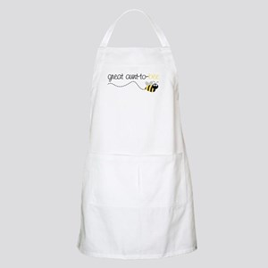 great aunt to be shirt BBQ Apron