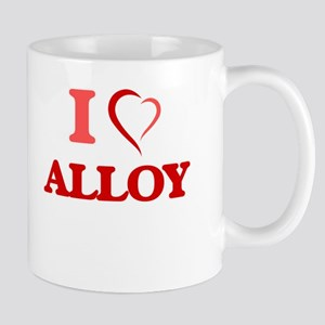I Love Alloy Mugs