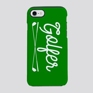 Golfer iPhone 7 Tough Case
