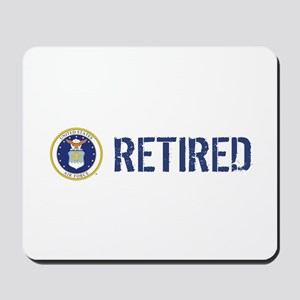 USAF: Retired Mousepad