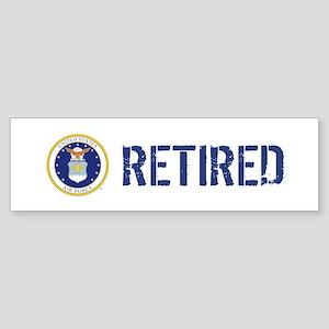 USAF: Retired Sticker (Bumper)