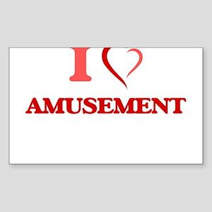 I Love Amusement Sticker