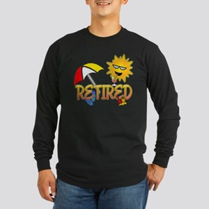 Retired Long Sleeve Dark T-Shirt