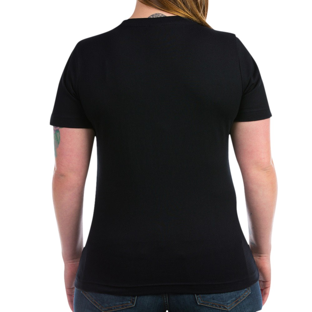 CafePress-Retired-Women-039-s-V-Neck-Dark-T-Shirt-V-Neck-T-Shirt-380506903 thumbnail 7