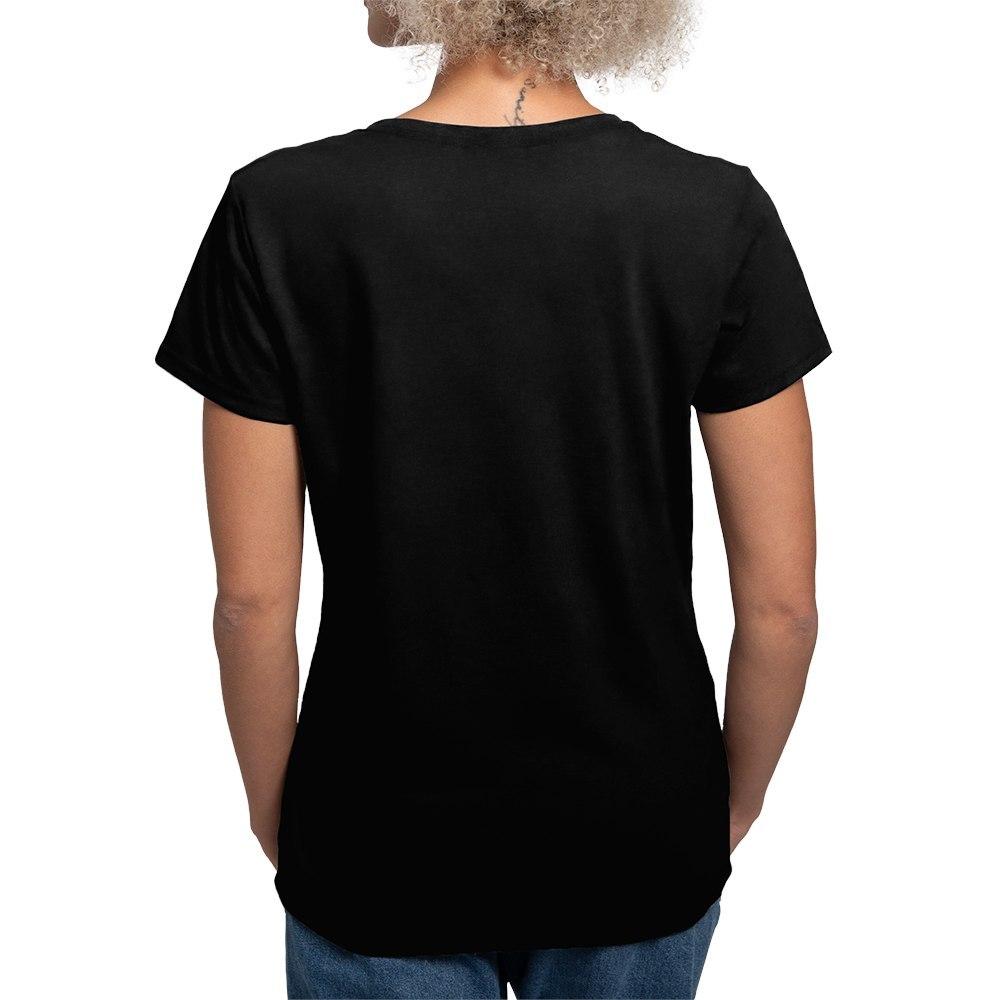 CafePress-Retired-Women-039-s-V-Neck-Dark-T-Shirt-V-Neck-T-Shirt-380506903 thumbnail 3