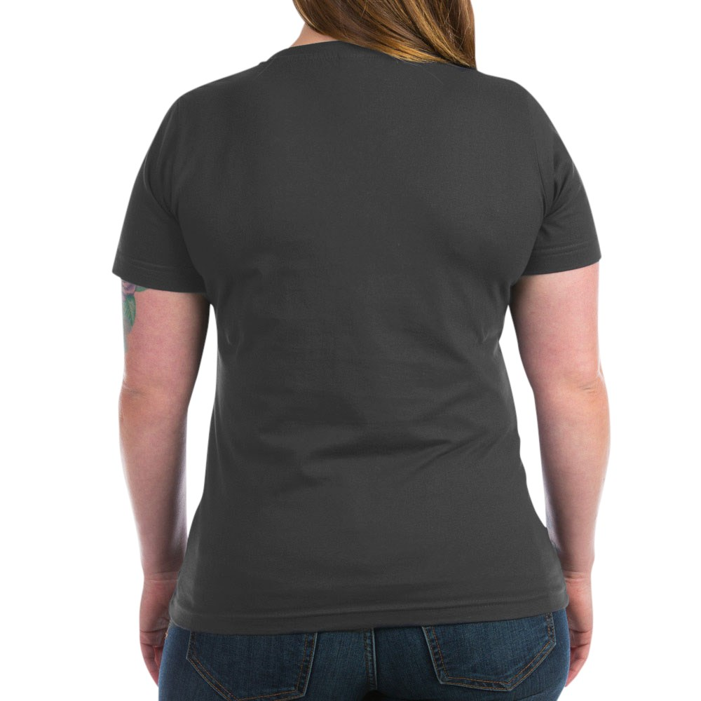 CafePress-Retired-Women-039-s-V-Neck-Dark-T-Shirt-V-Neck-T-Shirt-380506903 thumbnail 26