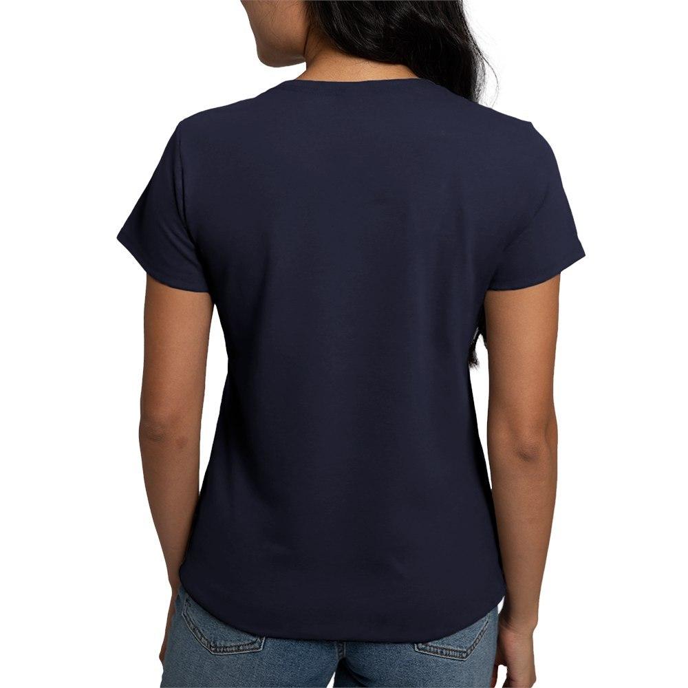 CafePress-Retired-Women-039-s-V-Neck-Dark-T-Shirt-V-Neck-T-Shirt-380506903 thumbnail 17