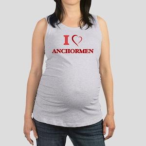 I Love Anchormen Tank Top