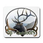 Bull Elk Wildlife Mousepad