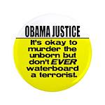 "Obama Justice 3.5"" Button"