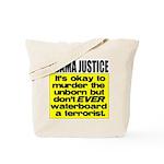 Obama Justice Tote Bag