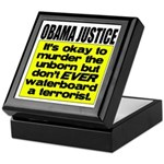 Obama Justice Keepsake Box