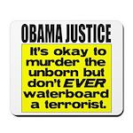 Obama Justice Mousepad