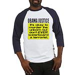Obama Justice Baseball Jersey