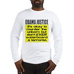 Obama Justice Long Sleeve T-Shirt