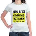 Obama Justice Jr. Ringer T-Shirt