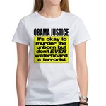 Obama Justice Women's T-Shirt