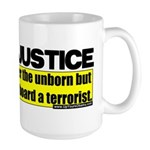 Obama Justice Large Mug