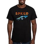 Speed Cars Men's Fitted T-Shirt (dark)