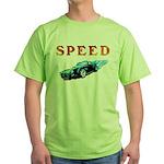 Speed Cars Green T-Shirt