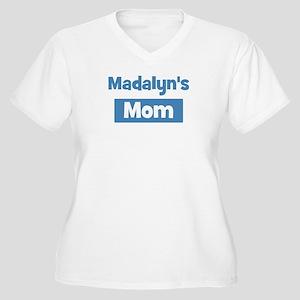 Madalyns Mom Women's Plus Size V-Neck T-Shirt