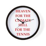 Funny sports and gaming joke Wall Clock
