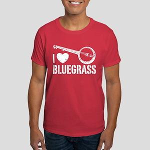 I Love Bluegrass Dark T-Shirt