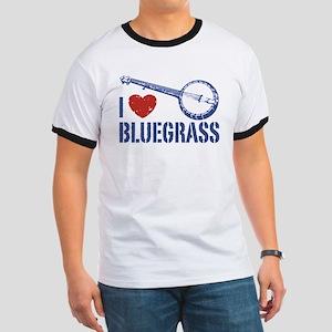 I Love Bluegrass Ringer T