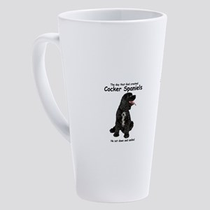 Cocker Spaniel 17 oz Latte Mug