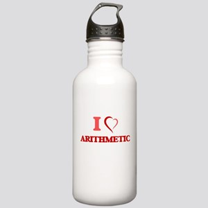I Love Arithmetic Stainless Water Bottle 1.0L