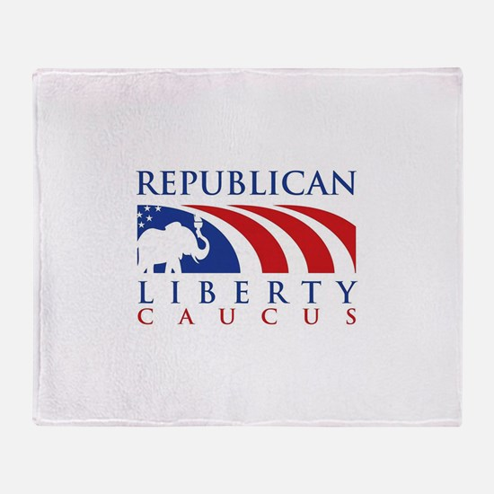 Cute Caucus Throw Blanket