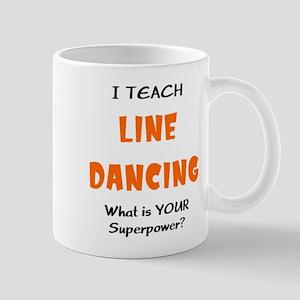 teach line dance 11 oz Ceramic Mug