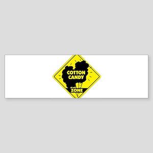 Cotton Candy Zone Bumper Sticker