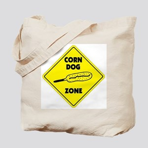 Corn Dog Zone Tote Bag
