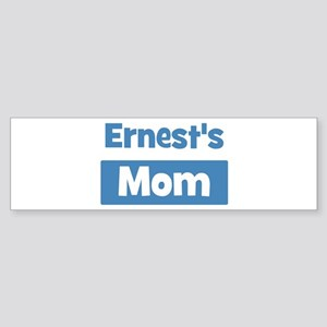 Ernests Mom Bumper Sticker