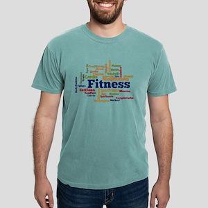Fitness Word Cloud T-Shirt