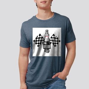 SPARK PLUG and FLAGS T-Shirt