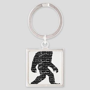 Bigfoot Sasquatch Yowie Yeti Yaren Skunk Keychains