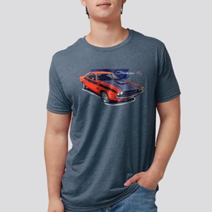 Dodge Challenger Orange Car T-Shirt