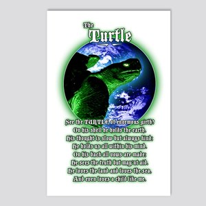 """""""The Turtle"""" Postcards (Package of 8)"""