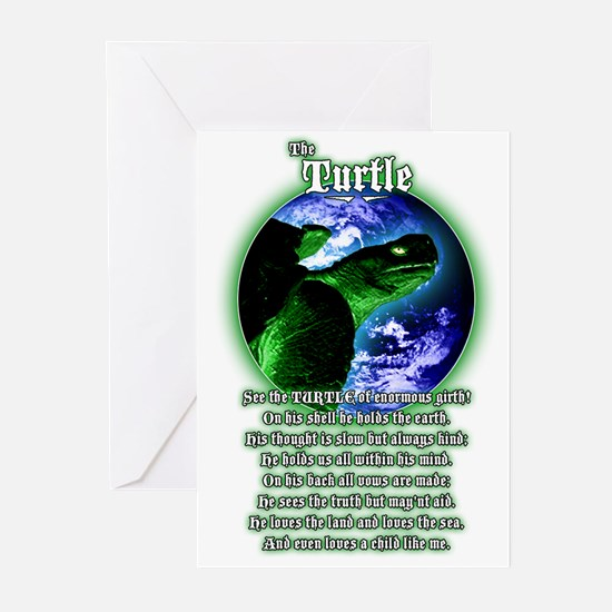 """The Turtle"" Greeting Cards (Pk of 10)"