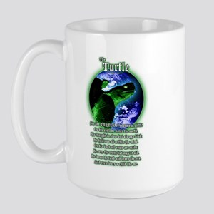 """The Turtle"" Large Mug"