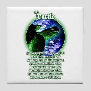 """""""The Turtle"""" Tile Coaster"""