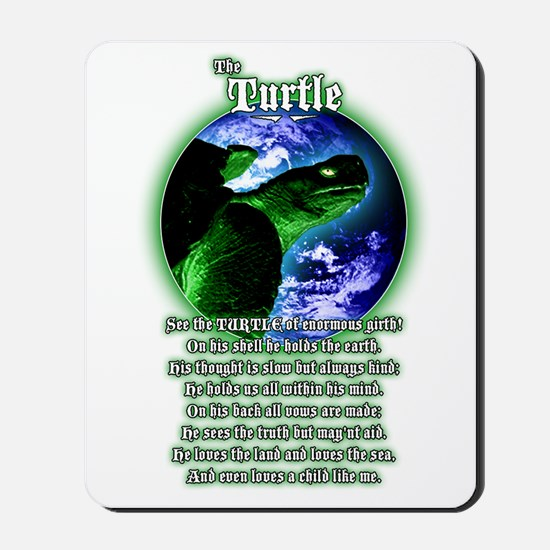 """The Turtle"" Mousepad"