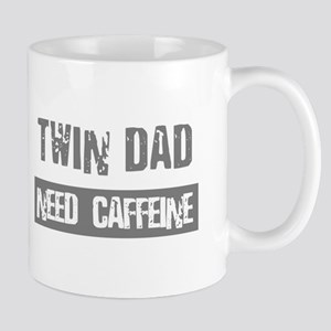 Twin Dad - Need Caffeine - Coffee Mug